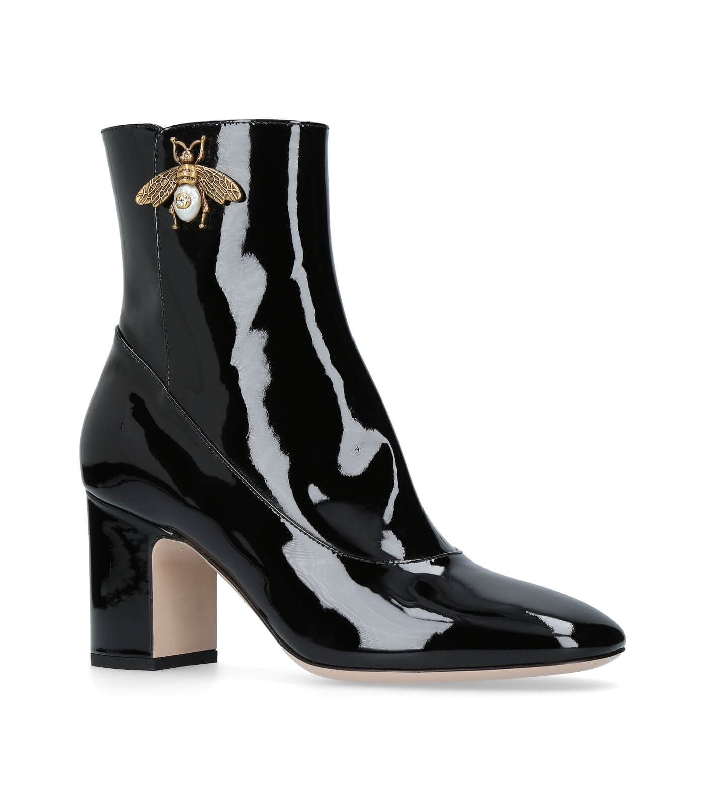 Gucci-Bee-Ankle-Boots