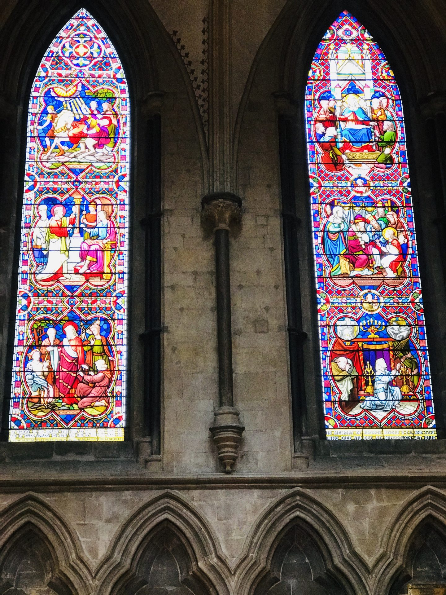 Stained _Glass _Windows _Lincoln _Cathedral