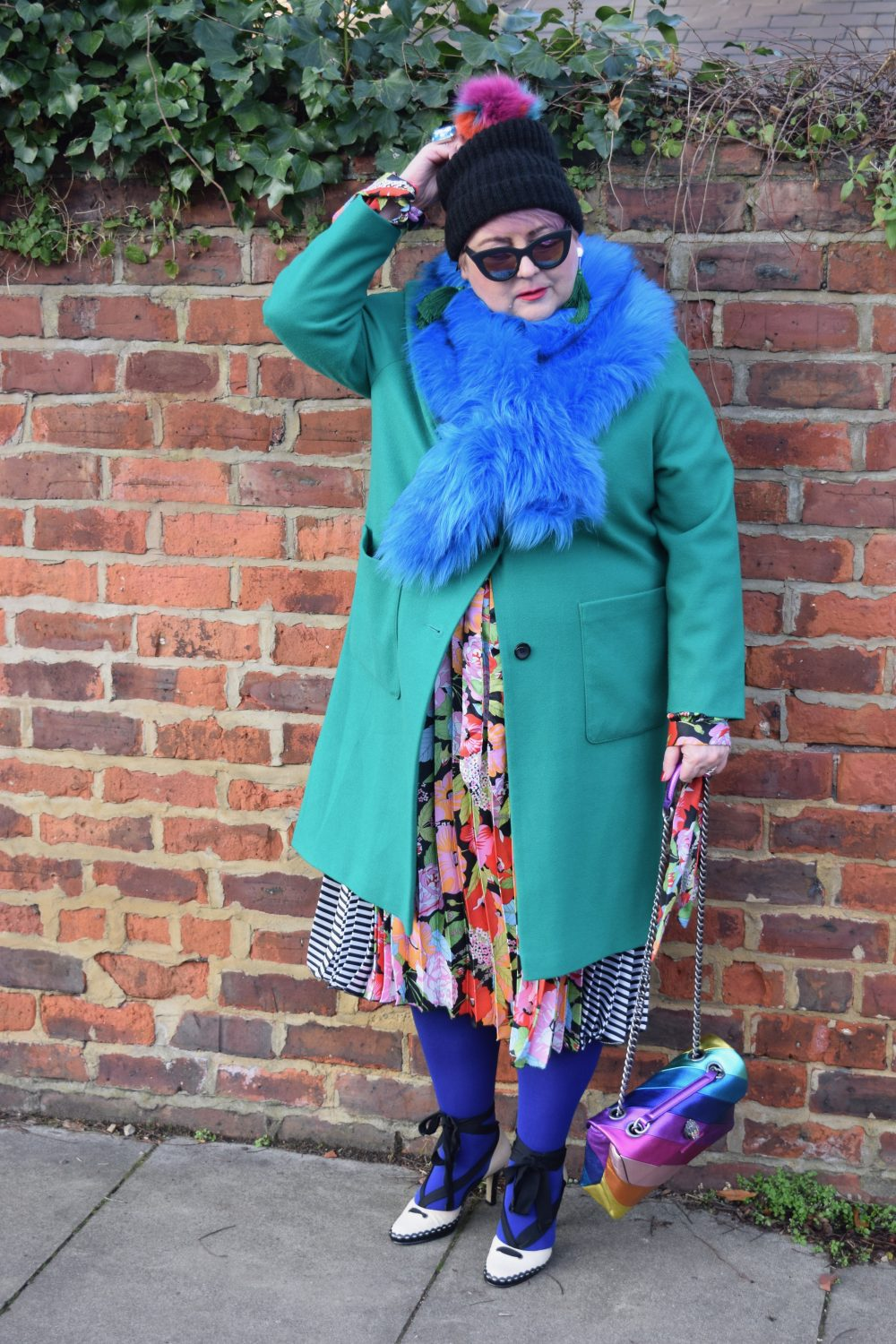 My London Fashion Week Street Style Colour Clash Outfit Inspo