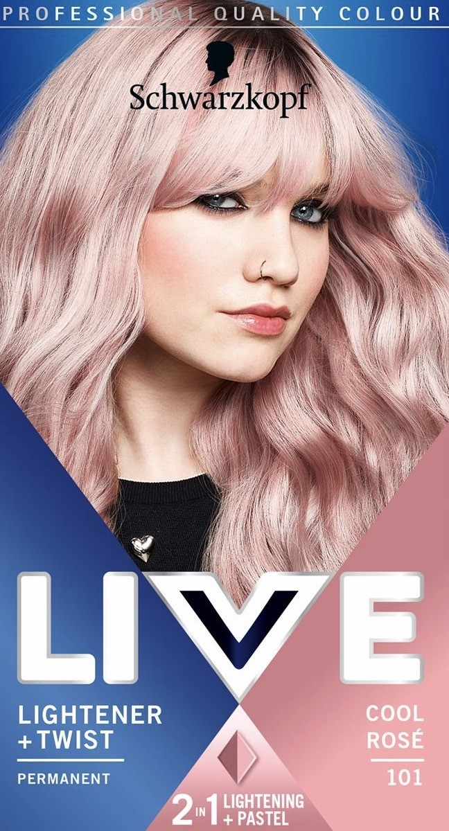Rose _Gold _Pink _Hair _Colour _I _Use