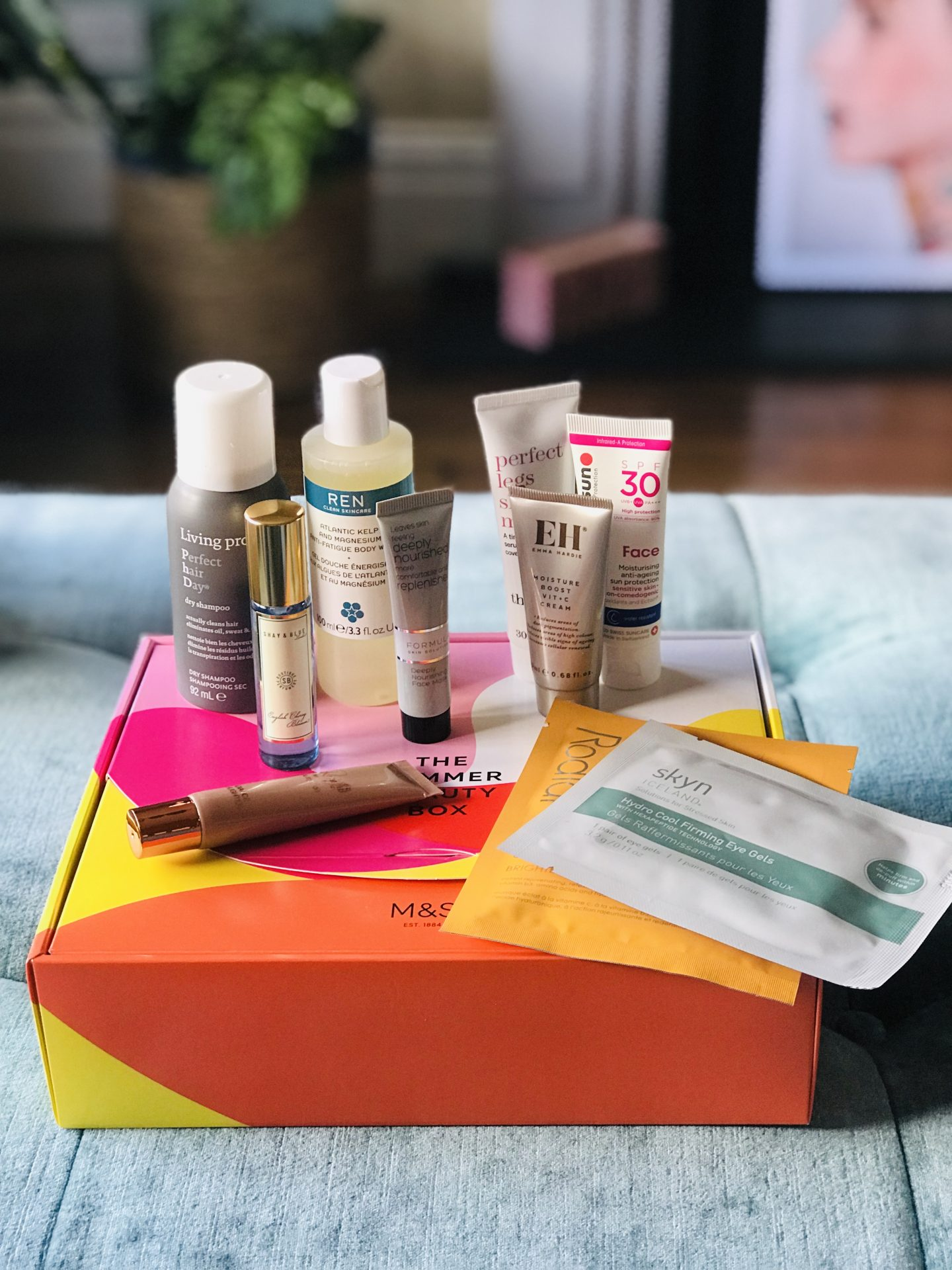 My First Ever Beauty Box | The M&S Summer Beauty One